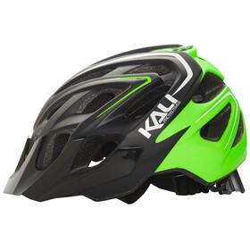Kali Chakra Plus Hjelm grøn/sort